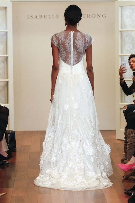 "Isabelle Armstrong's ""Laura."" Available in Charleston through Gown Boutique of Charleston."