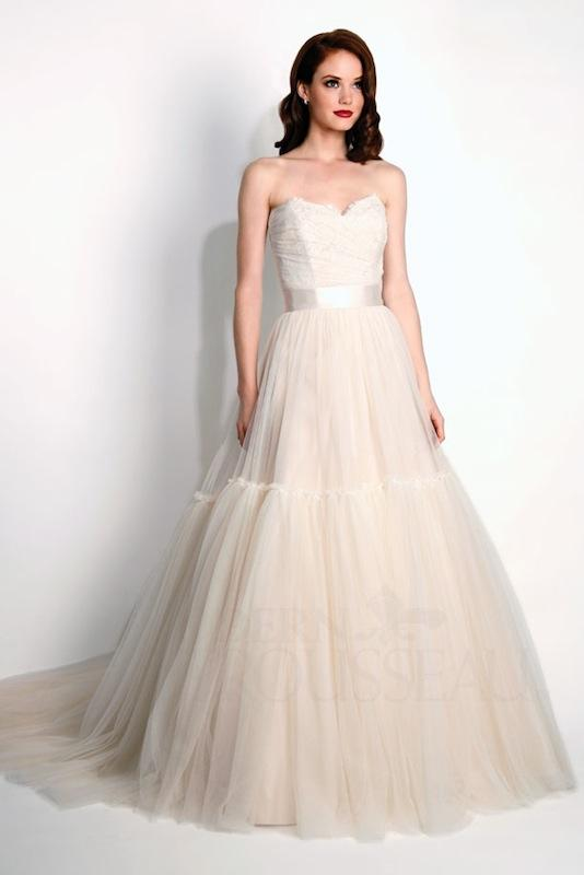 "Modern Trousseau's ""Layla."" Available in Charleston through Modern Trousseau."