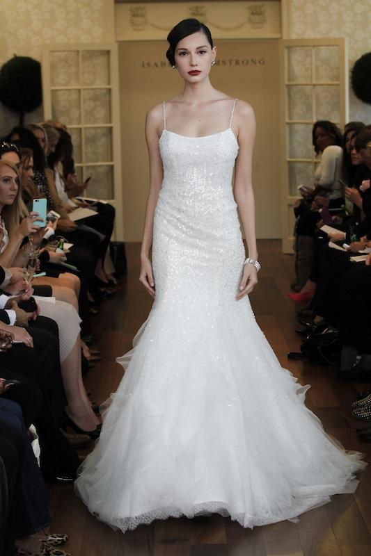 "Isabelle Armstrong's ""Lelia."" Available in Charleston through Gown Boutique of Charleston."