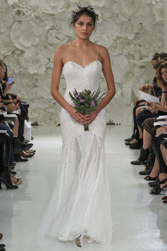 """Love Marley by Watters' """"Wren"""" (style 54708). Available in Charleston through Jean's Bridal and White on Daniel Island."""