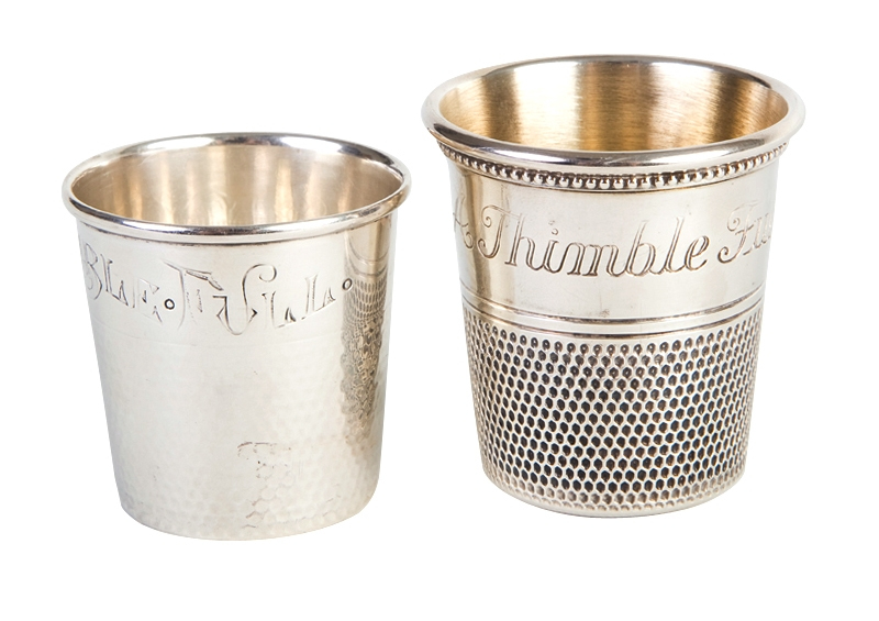 KEEPSAKE: Antique silver jiggers from Croghan's Jewel Box