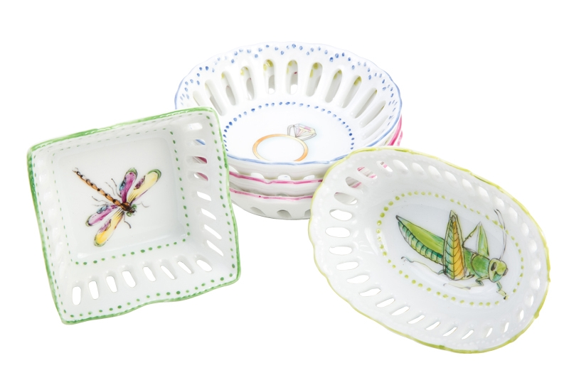 DAINTY DOINGS: Ring dishes from The Boutique