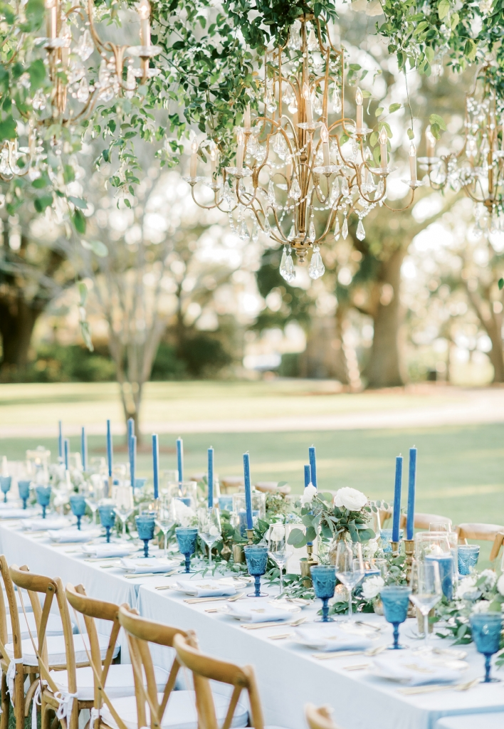 Mallory first encountered Lowndes Grove Plantation as a college intern for Patrick Properties Hospitality Group, which manages the site. From that point on, she earmarked it as her dream wedding spot.