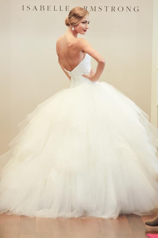 "Isabelle Armstrong's ""Maribelle."" Available in Charleston through Gown Boutique of Charleston."
