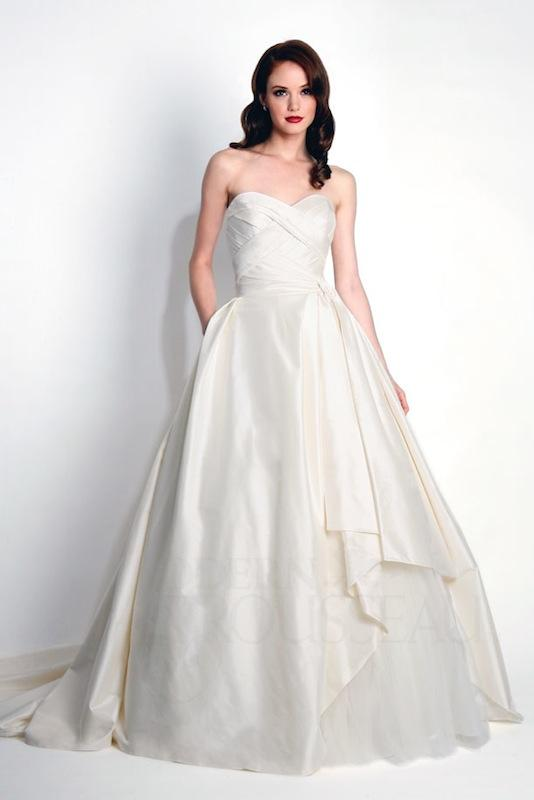 "Modern Trousseau's ""Mina."" Available in Charleston through Modern Trousseau."