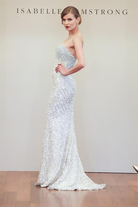 "Isabelle Armstrong's ""Noelle."" Available in Charleston through Gown Boutique of Charleston."