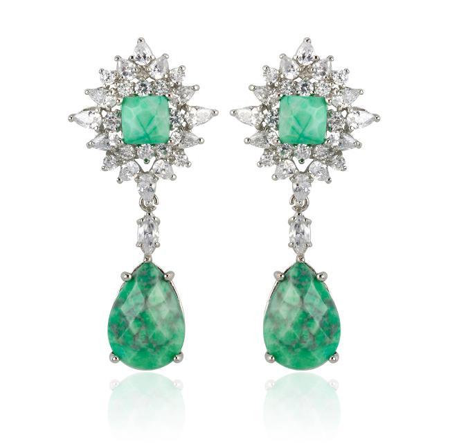 "Samantha Wills' ""Parisian Nights Grand"" earrings. Available through SamanthaWills.com."