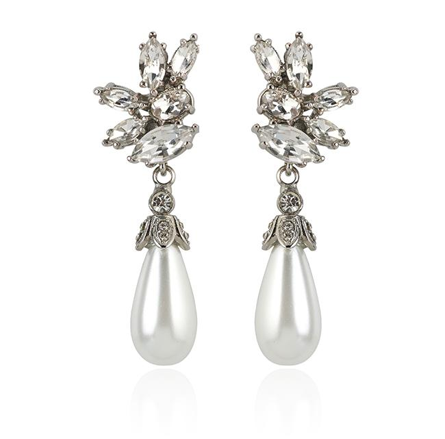 "Samantha Wills' ""Parisian Nights Grand"" earrings. Available through SamanthaWills.com."