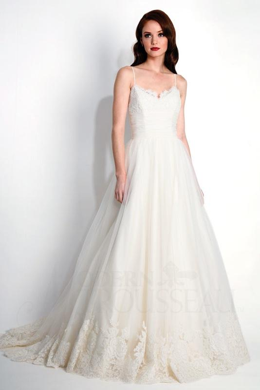 "Modern Trousseau's ""Porter."" Available in Charleston through Modern Trousseau."