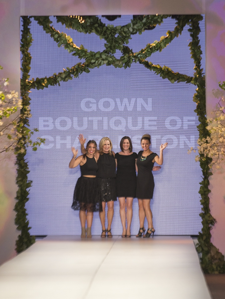 The ladies of Gown Boutique of Charleston.
