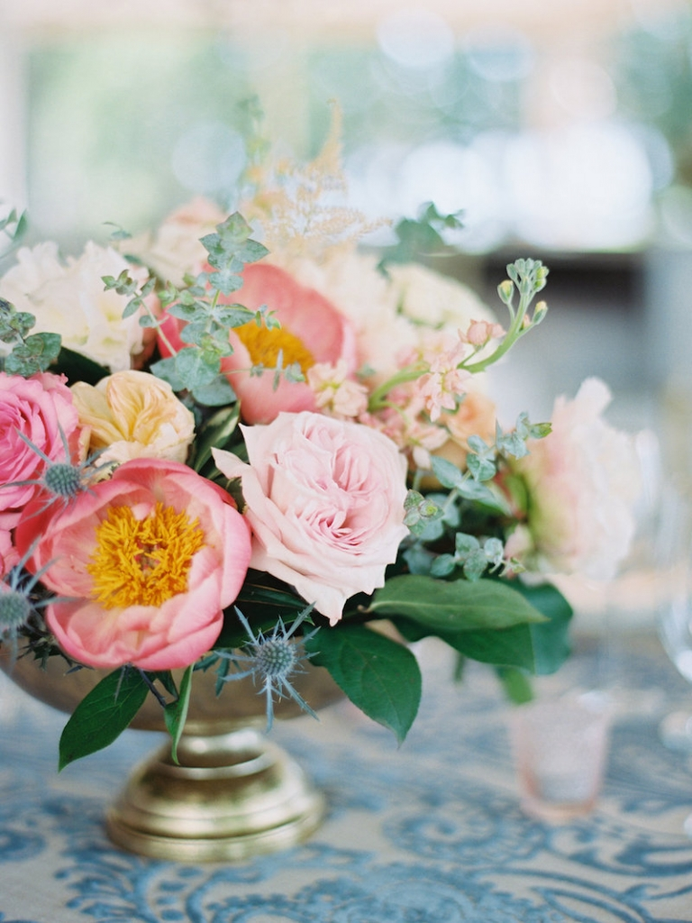 Floral design by A Charleston Bride. Image by Ryan Ray Photography.