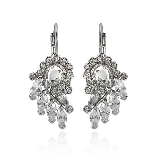 "Samantha Wills' ""Shimmer and Shine"" earrings. Available through SamanthaWills.com."
