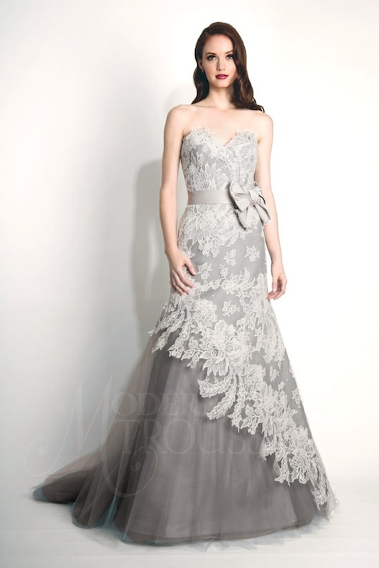 "Modern Trousseau's ""Storm."" Available in Charleston through Modern Trousseau."