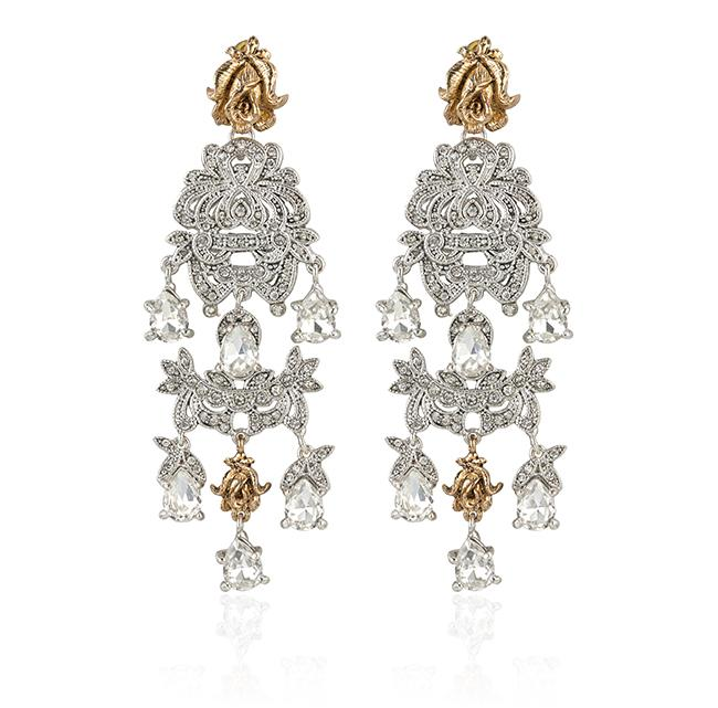 "Samantha Wills' ""Time to Dance Grand"" earrings. Available through SamanthaWills.com."