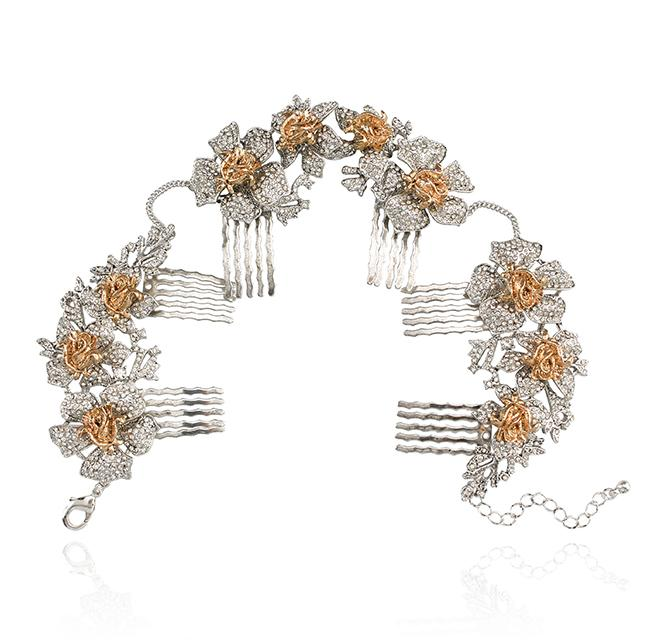 """Samantha Wills' """"Time to Dance"""" hair comb. Available through SamanthaWills.com."""