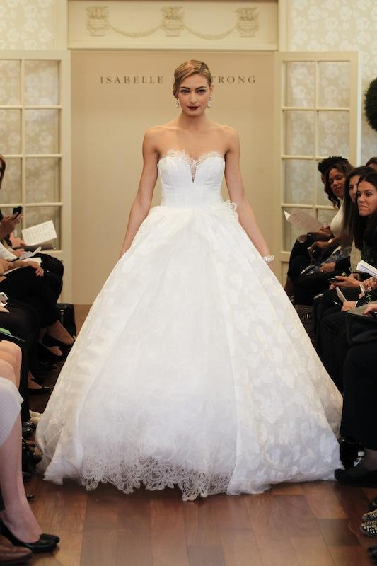 "Isabelle Armstrong's ""Vanessa."" Available in Charleston through Gown Boutique of Charleston."