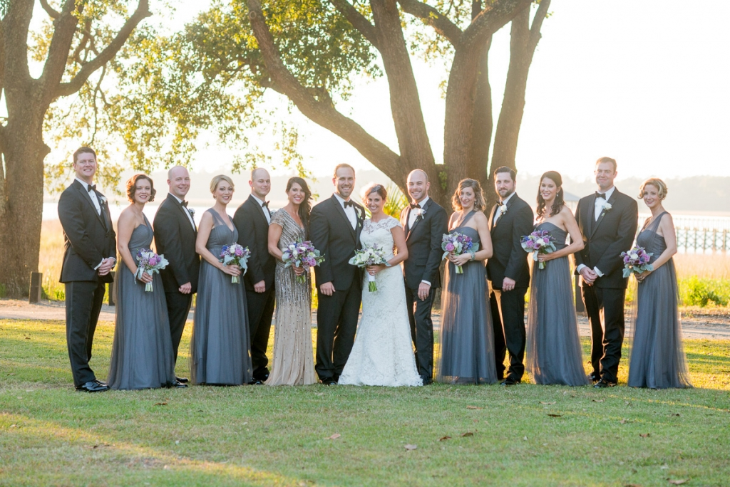 Florals by WildFlower Inc. Image by Leigh Webber Photography at Lowndes Grove Plantation.