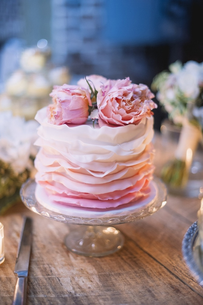 Cake by DeClare Cakes. Image by Timwill Photography.