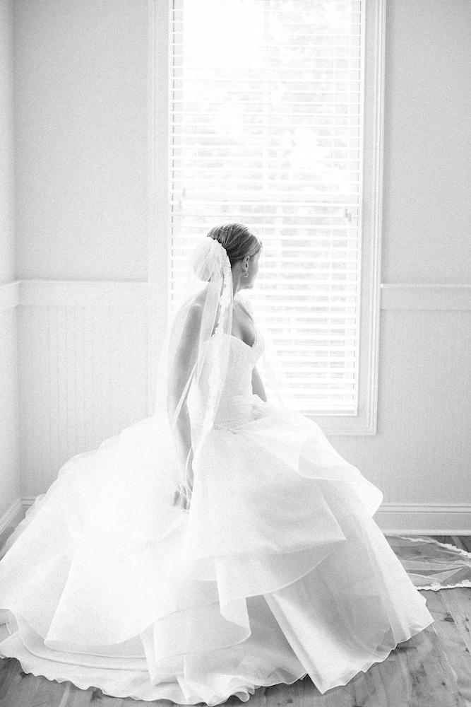 Bride's gown by Issa. Image by Corbin Gurkin Photography.