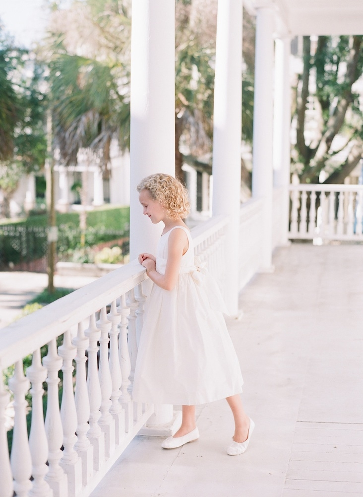 Flower girl's dress from J.Crew. Image by Corbin Gurkin Photography.