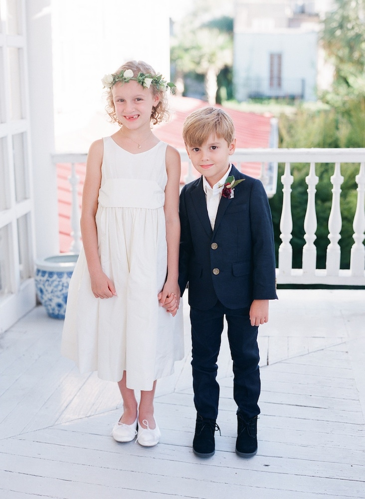 Children's attire from J.Crew. Florals by Charleston Stems. Image by Corbin Gurkin Photography.