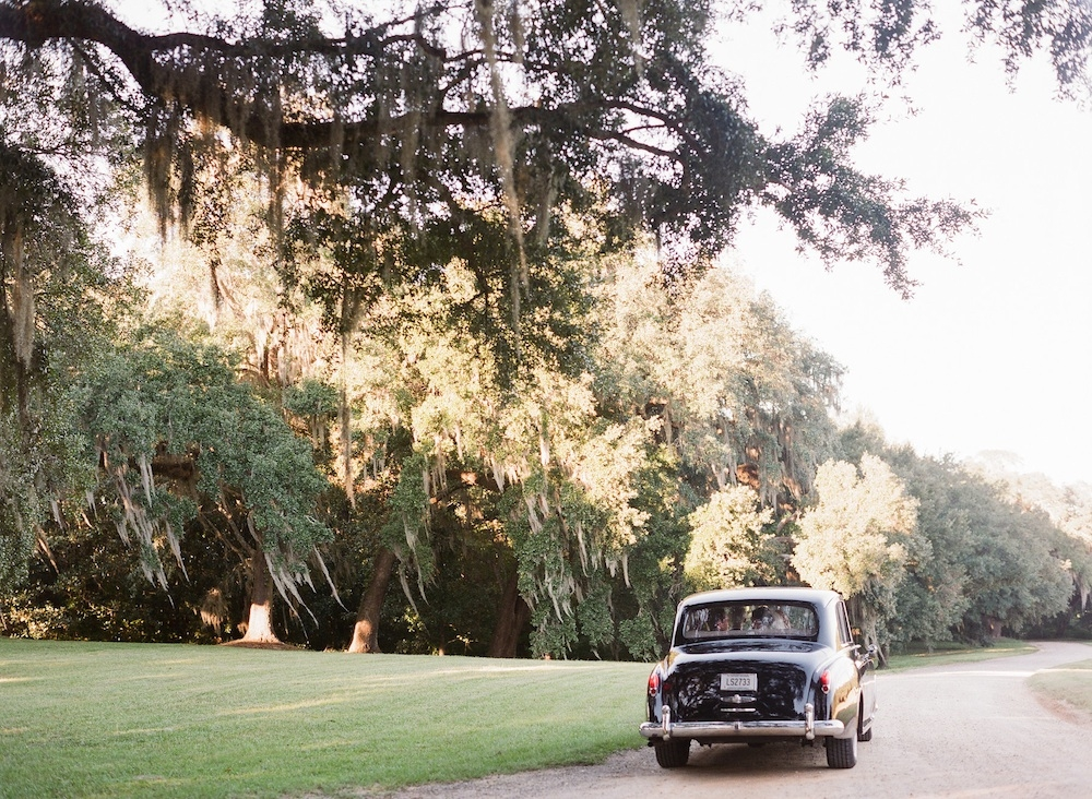 Car from Absolutely Charleston. Image by Corbin Gurkin Photography at Yeamans Hall Club.