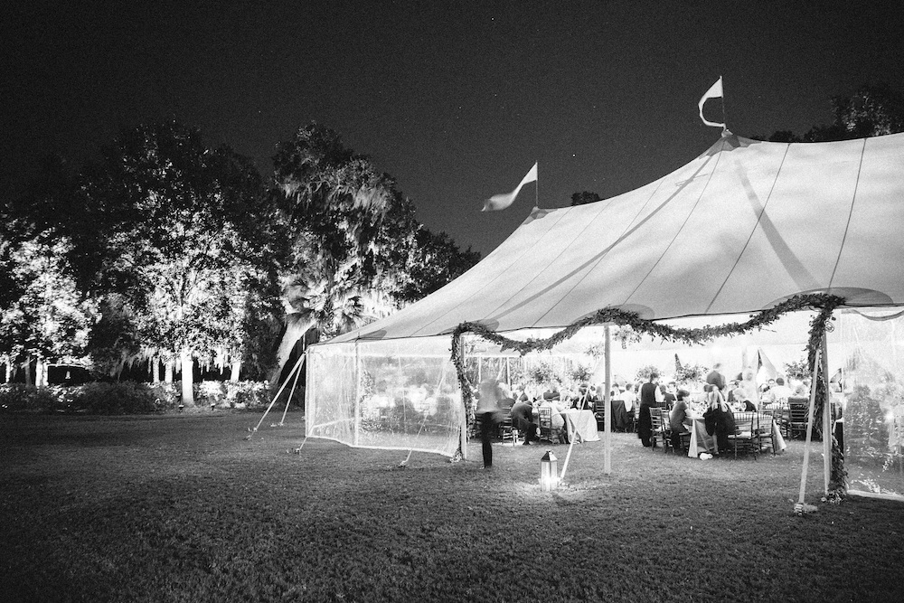 Wedding design by Easton Events. Tent by Sperry Tents Southeast.