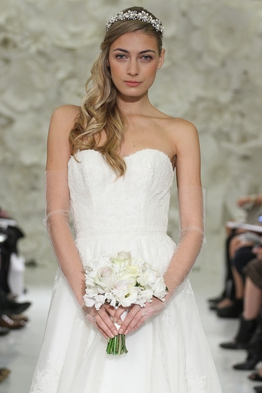 """Watters' """"Asher"""" (style 7000B). Available in Charleston through Jean's Bridal and White on Daniel Island."""