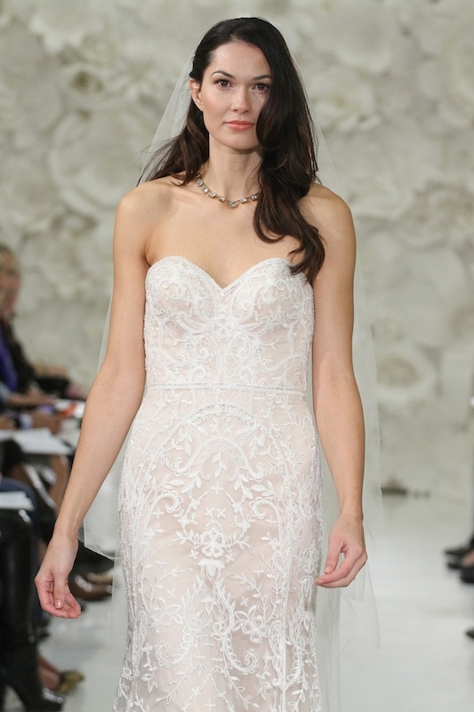 """Watters' """"Zarrin"""" (style 7000B). Available in Charleston through Jean's Bridal and White on Daniel Island."""