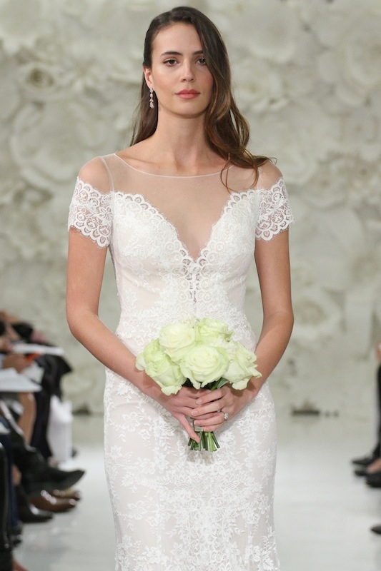 """Watters' """"Mila"""" (style 7014B). Available in Charleston through Jean's Bridal and White on Daniel Island."""