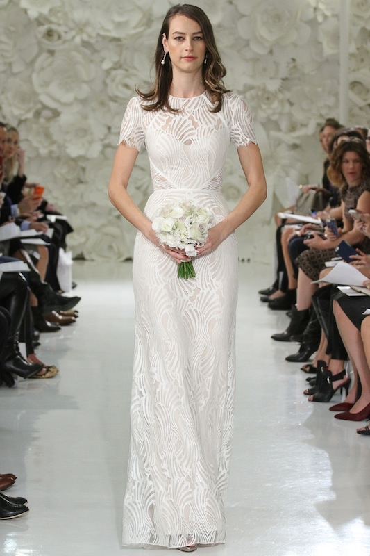 """Watters' """"Beilin"""" (style 7059B). Available in Charleston through Jean's Bridal and White on Daniel Island."""