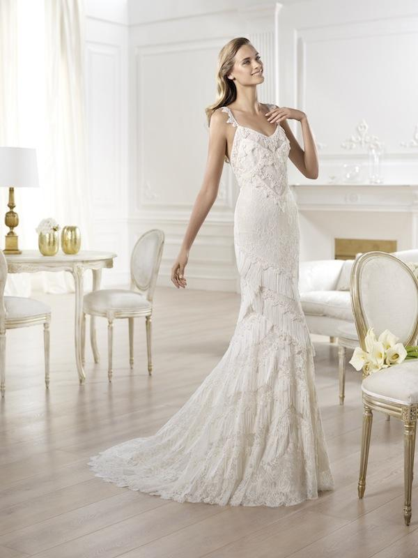 "Pronovias' ""Yadarola."" Available in Charleston through Gown Boutique of Charleston."