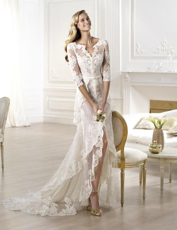 "Pronovias' ""Yaela."" Available in Charleston through Gown Boutique of Charleston."