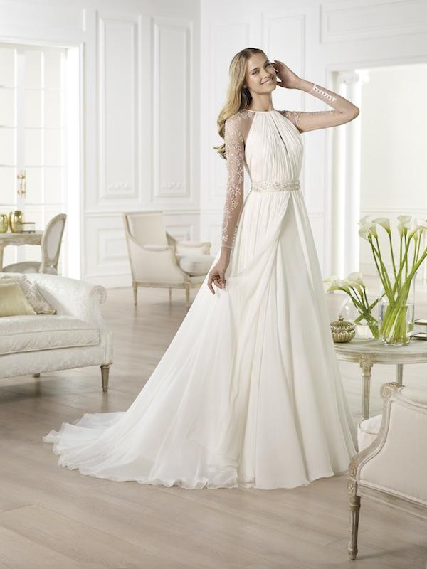"Pronovias' ""Yajaida."" Available in Charleston through Gown Boutique of Charleston."