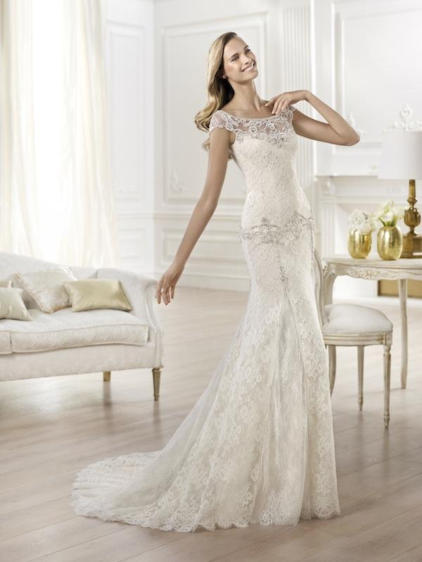 "Pronovias' ""Yalena."" Available in Charleston through Gown Boutique of Charleston."