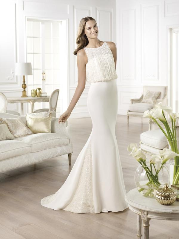 "Pronovias' ""Yamel."" Available in Charleston through Gown Boutique of Charleston."