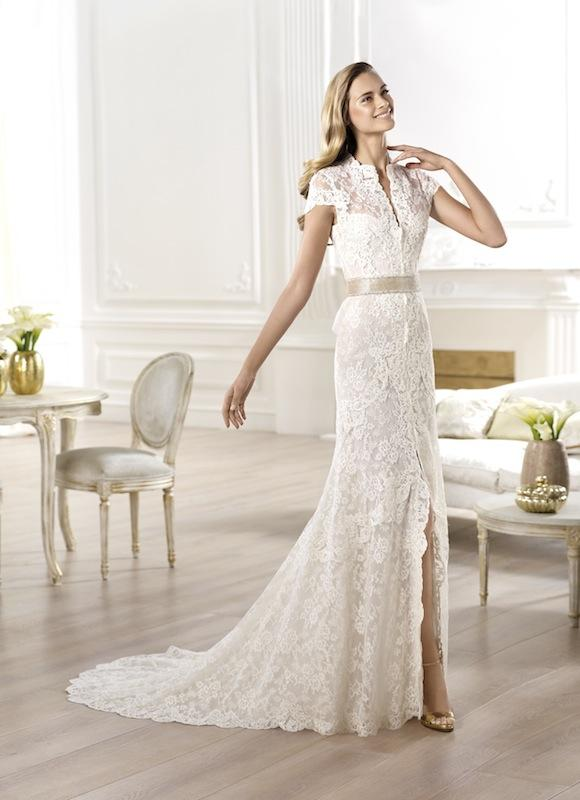 "Pronovias' ""Yanguas."" Available in Charleston through Gown Boutique of Charleston."