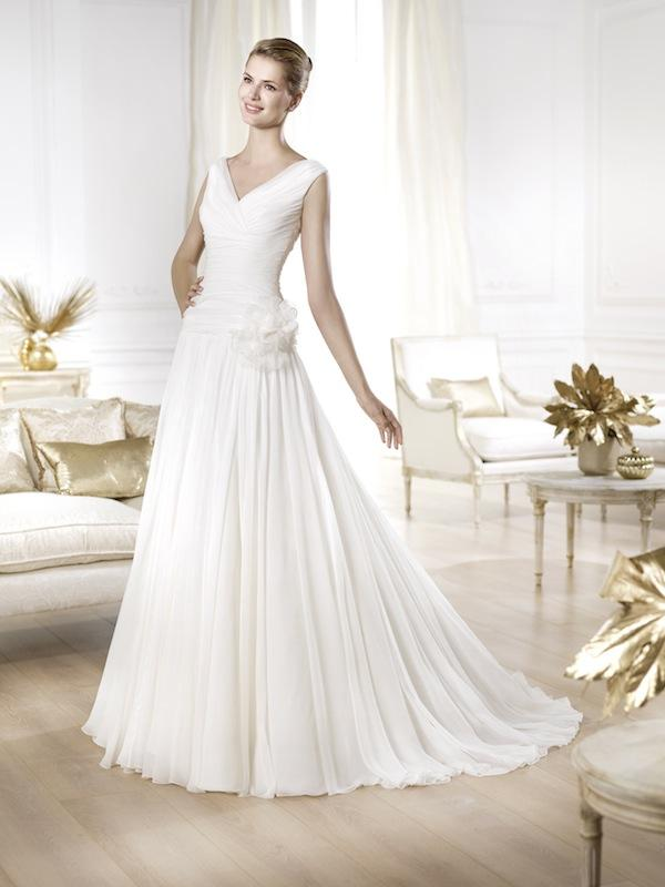 "Pronovias' ""Yerma."" Available in Charleston through Gown Boutique of Charleston."