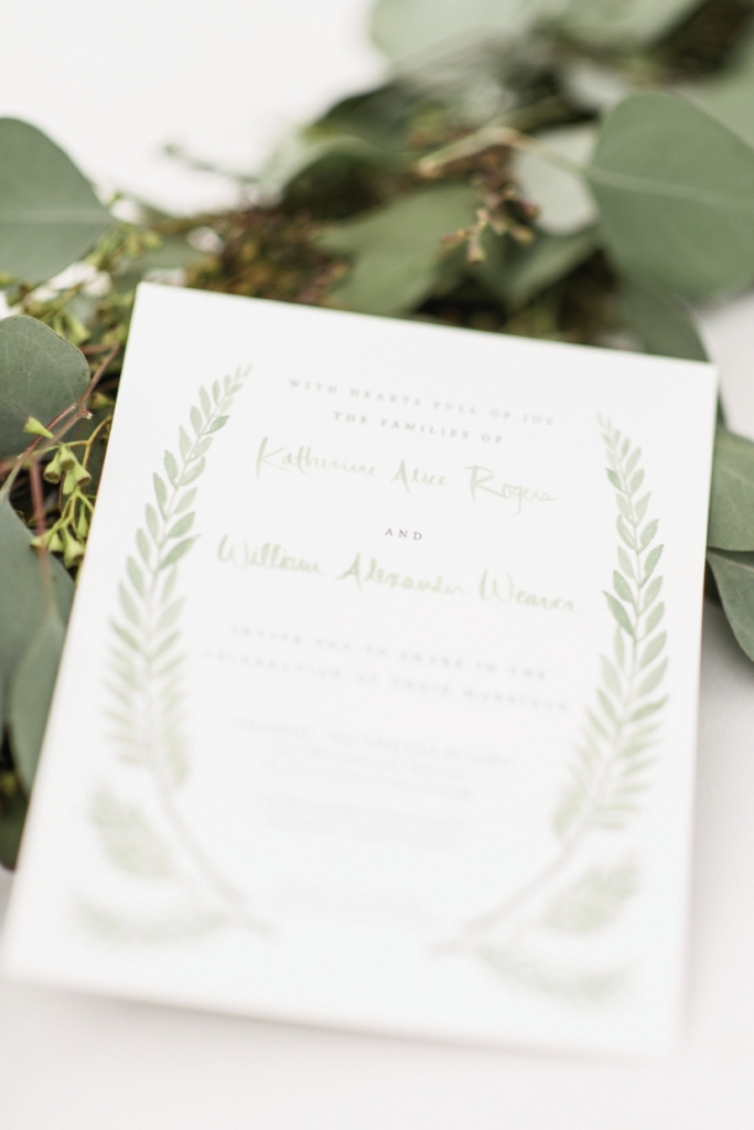 Programs designed by bride. Photograph by Sean Money + Elizabeth Fay.