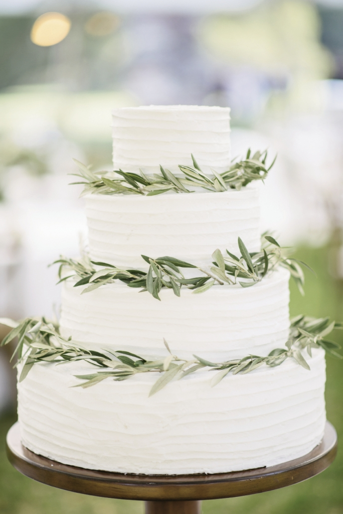 Cake by groom's grandmother. Photograph by Sean Money + Elizabeth Fay at Runnymede Plantation.
