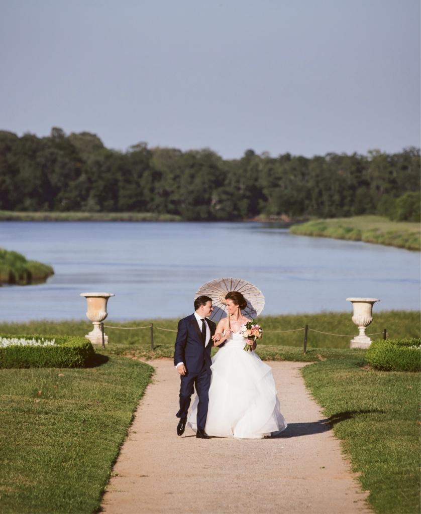 Jared Coseglia & Catherine Siracusa.  <i>Amelia + Dan Photography</i>