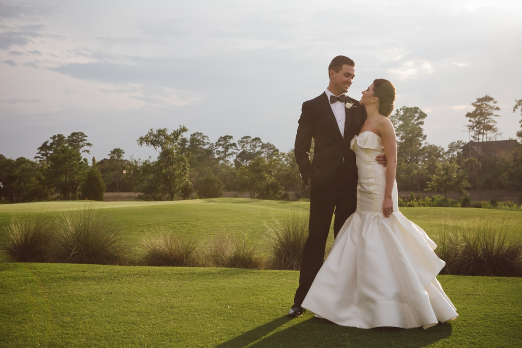 Bride's gown by Carolina Herrera (available locally at Fabulous Frocks) Photograph by amelia + dan.