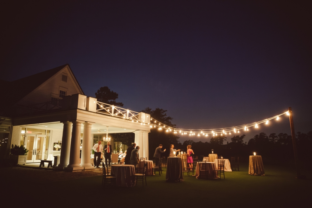 Lighting by Technical Event Company. Photograph by amelia + dan at Daniel Island Club.