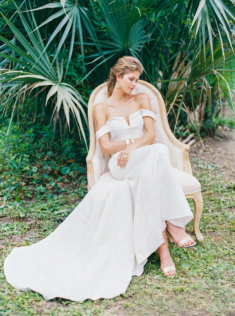 "Rebecca Shoneveld's ""Devon"" from Southern Protocol Bridal. Photograph by Perry Vaile"