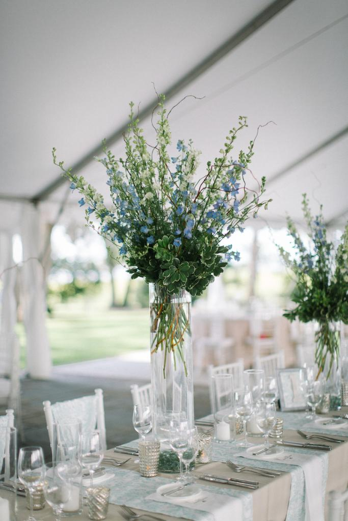 Wedding design by A. Caldwell Events. Florals by Tiger Lily Weddings. Tent by Snyder Events. Rentals by EventWorks. Image by Clay Austin Photography.
