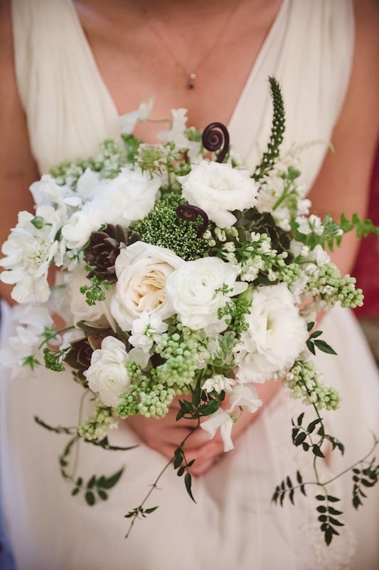Bouquet by Heidi Inabinet of On a Limb. Image by Amelia + Dan Photography.