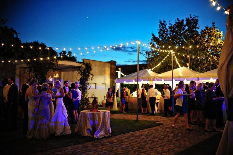 Wedding design and coordination by WED. Lighting by Technical Event Company. Rentals by Snyder Events and Amazing Event Rentals. Image by Kelli Boyd Photography at The Beaufort Inn.