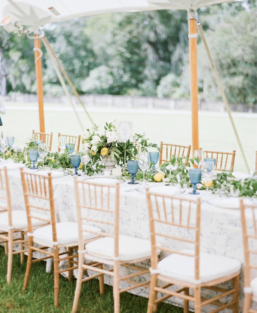 A New York couple trades the big city for a Capri-inspired Lowcountry wedding where limoncello and an unforgettable party were absolute musts