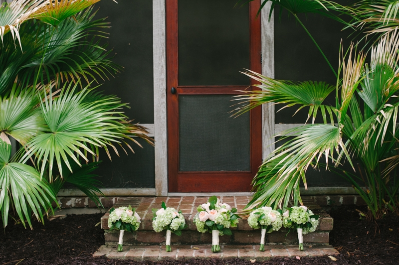 Bouquets by First Bloom of Charleston. Image by Britt Croft Photography.