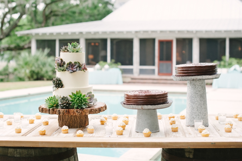 Sweets by Declare Cakes. Rentals by EventWorks. Image by Britt Croft Photography.
